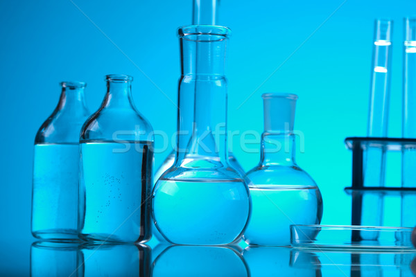Chemistry and Laboratory glassware  Stock photo © JanPietruszka