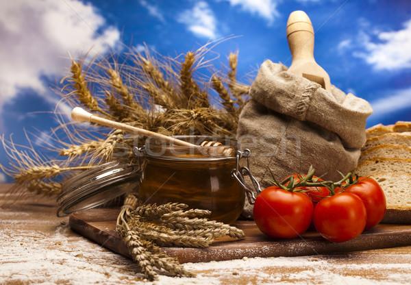 ストックフォト: 全粒粉パン · 食品 · 背景 · パン · ディナー