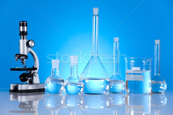 Сток-фото: исследований · химии · формула · науки · бутылку · лаборатория