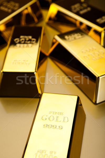Finansowych ceny metal banku Zdjęcia stock © JanPietruszka