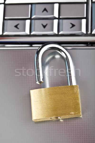 безопасности современных сеть бизнеса компьютер Сток-фото © JanPietruszka
