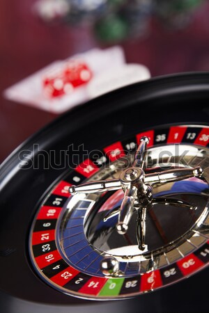 In the casino, ambient light saturated theme Stock photo © JanPietruszka