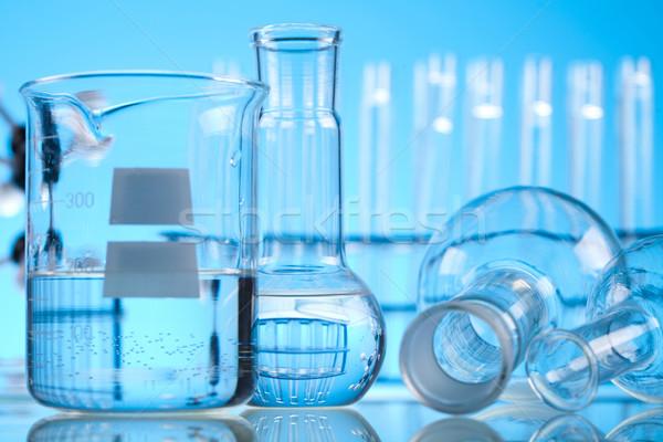 Stockfoto: Steriel · laboratorium · glas · medische · lab · chemische