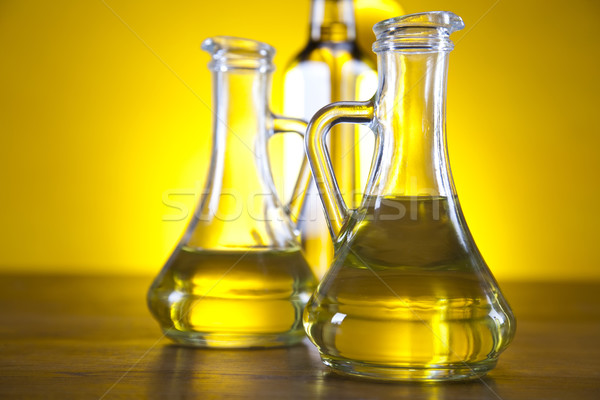 Carafe with olive oil  Stock photo © JanPietruszka