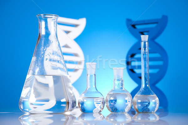 Dna moleculen chemie formule water ontwerp Stockfoto © JanPietruszka