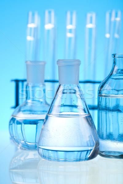 Estéril laboratorio vidrio médicos laboratorio químicos Foto stock © JanPietruszka