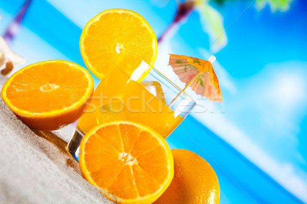 Exotic alcohol drinks, natural colorful tone Stock photo © JanPietruszka