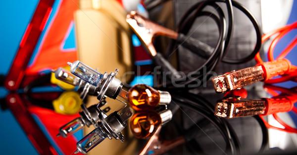 Carro moto luz fundo Foto stock © JanPietruszka