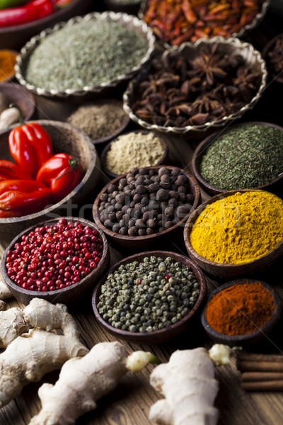 Cooking ingredient,spice, orintal cuisine vivid theme Stock photo © JanPietruszka