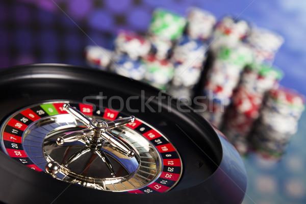 ルーレット 表 カジノ 楽しい ストックフォト © JanPietruszka