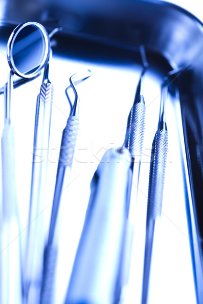 Dental Tools set  Stock photo © JanPietruszka