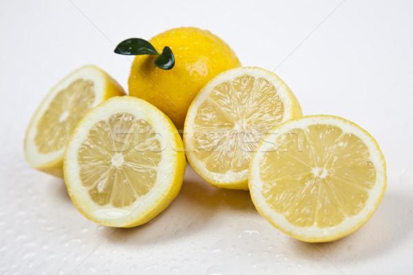 Gyümölcs mix fényes színes gyümölcs egészség szépség Stock fotó © JanPietruszka