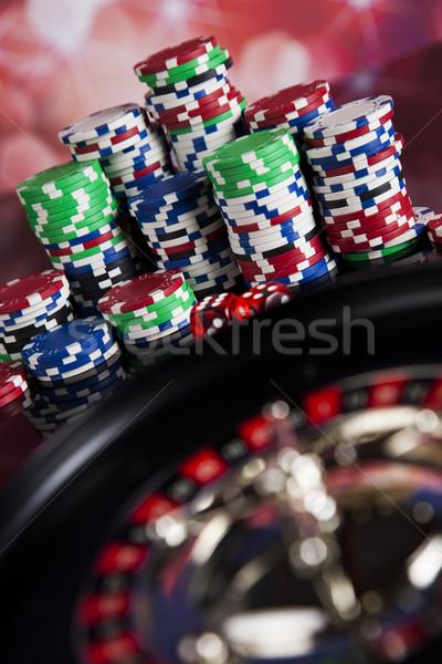 Spielen Roulette Casino Spaß Stock foto © JanPietruszka
