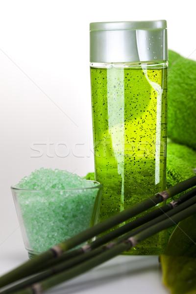 Zdjęcia stock: Spa · martwa · natura · świeże · organiczny · prysznic · mydło