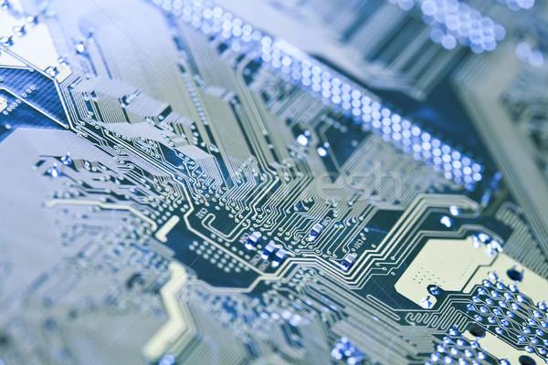 Foto stock: Ordenador · bordo · moderna · trabajo · red