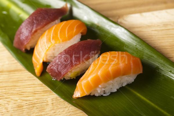 Collection of sushi  Stock photo © JanPietruszka