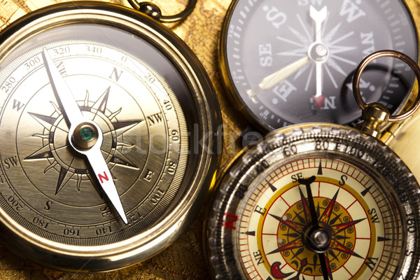 Travelling, Compass  Stock photo © JanPietruszka