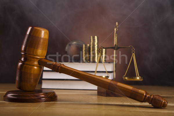 Judge gavel Stock photo © JanPietruszka