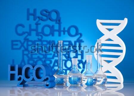 ДНК лаборатория воды дизайна знак Сток-фото © JanPietruszka