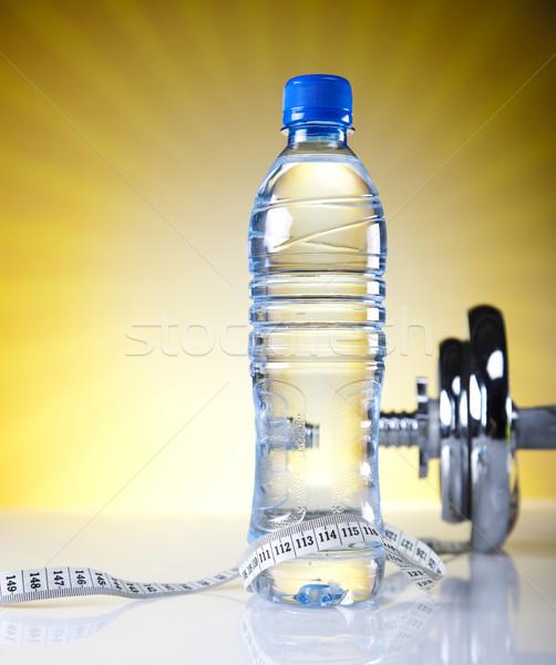 фитнес здоровья мышцы жира свежие Сток-фото © JanPietruszka