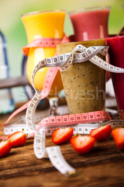 Dumbbell, healthy and fresh concept Stock photo © JanPietruszka