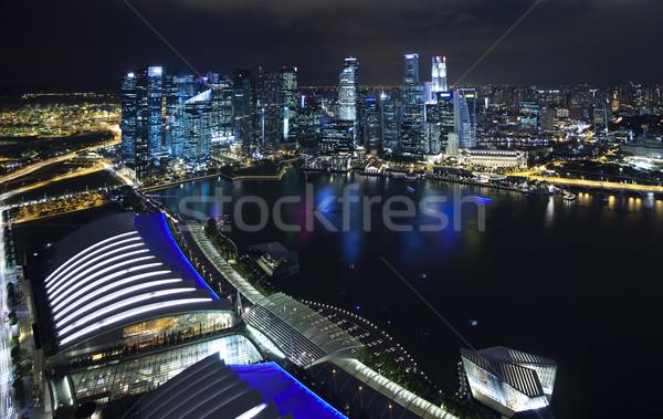 City by night, travel vivid theme Stock photo © JanPietruszka