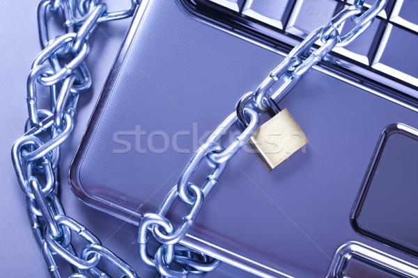 Security conception, modern network symbols concept Stock photo © JanPietruszka