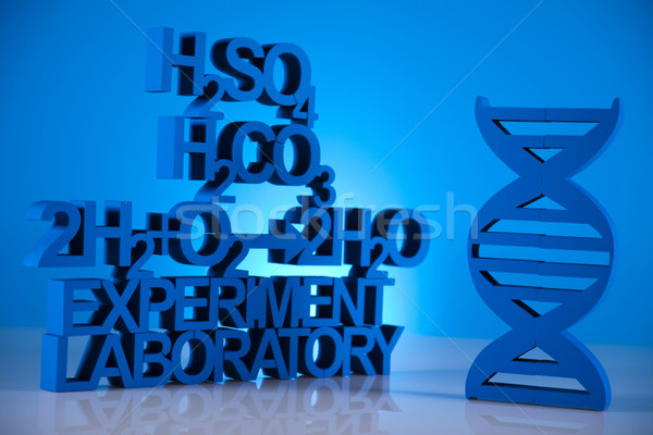 Chemistry formula background Stock photo © JanPietruszka