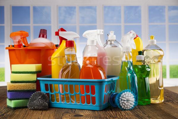 グループ 洗浄 ウィンドウ 家 ツール ストックフォト © JanPietruszka