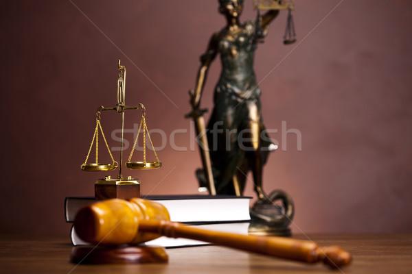 Justice concept  Stock photo © JanPietruszka