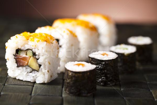Sushi Stock photo © JanPietruszka