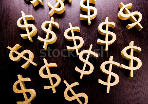 Dollars, bright financial saturated concept Stock photo © JanPietruszka