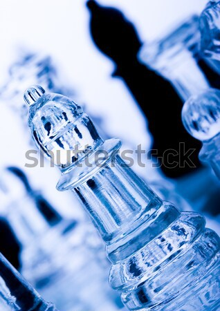 Ice background Stock photo © JanPietruszka