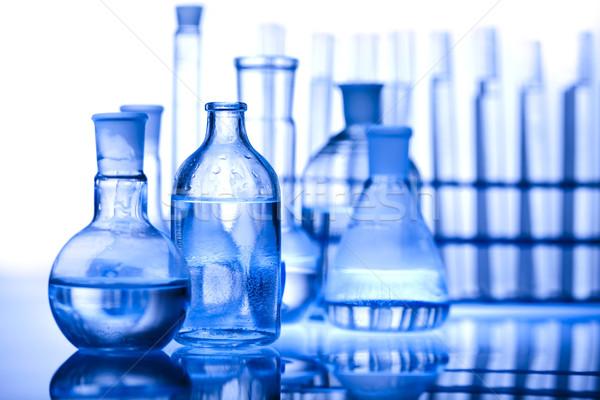 Kimyasal laboratuvar züccaciye teknoloji sağlık Stok fotoğraf © JanPietruszka