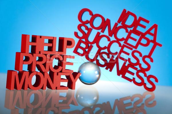 üzlet munka terv háttér siker vásárló Stock fotó © JanPietruszka