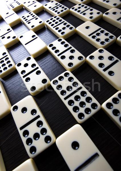 Domino Game, bright colorful tone concept Stock photo © JanPietruszka