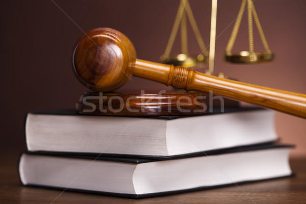 Law and justice concept Stock photo © JanPietruszka