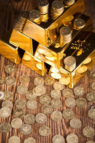 Arany érték naplemente fém pénzügy piac Stock fotó © JanPietruszka