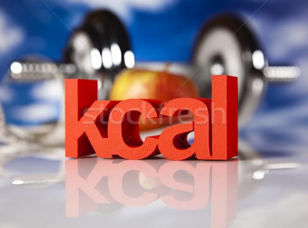 Weight loss, fitness, Dumbell  Stock photo © JanPietruszka