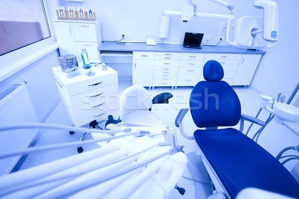Fogorvosi rendelő felszerlés orvos orvosi technológia kórház Stock fotó © JanPietruszka