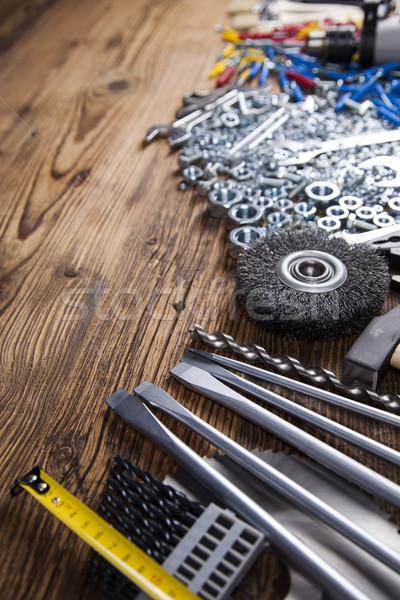 静物 ツール 手 作業 ワーカー 電源 ストックフォト © JanPietruszka