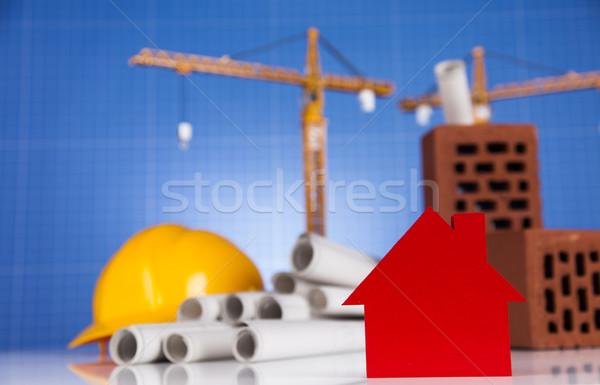 Edifícios construção negócio edifício financiar imóveis Foto stock © JanPietruszka