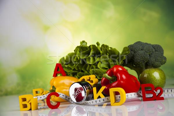 Vitamin concept, Health and fitness concept Stock photo © JanPietruszka