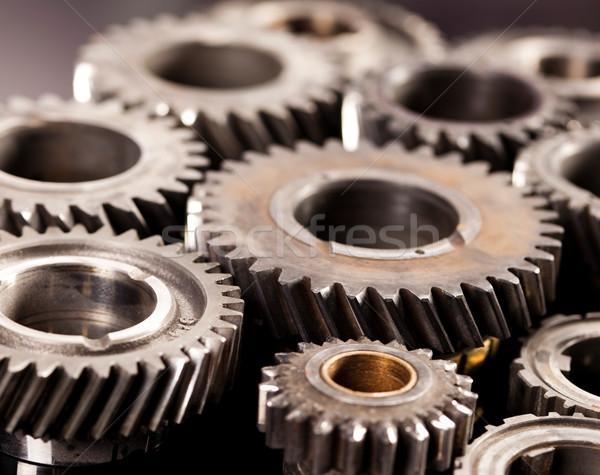 クローズアップ 歯車 産業 メカニズム ビジネス 車 ストックフォト © JanPietruszka