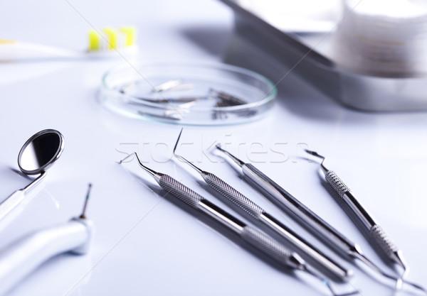 Dental tools Stock photo © JanPietruszka