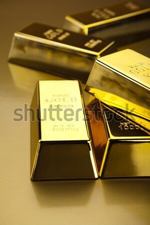 Diamond and gold, ambient financial concept Stock photo © JanPietruszka
