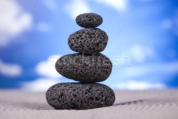 Still life, stone and zen Stock photo © JanPietruszka
