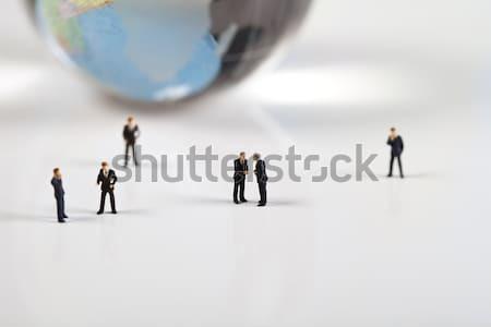 Csoport betűk pénzügyi fényes élénk üzlet Stock fotó © JanPietruszka
