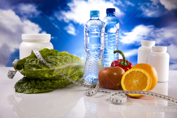 Dieta fitness deporte energía grasa Foto stock © JanPietruszka