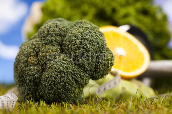 Сток-фото: фитнес · Витамины · здоровья · осуществлять · энергии · жира